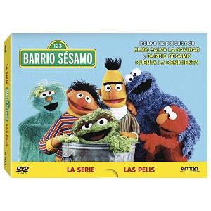 dvd's de Barrio Sésano