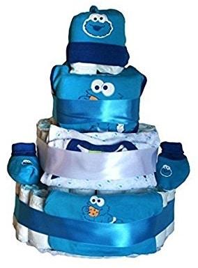 tarta-panales-bebe-monstruo-de-las-galletas